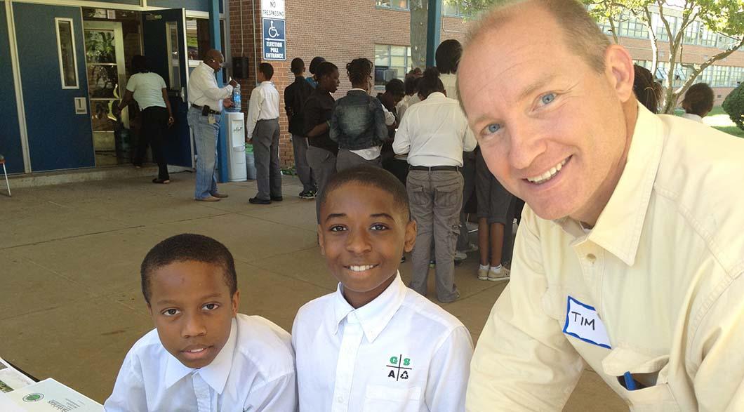 GSA9 - Energy Exchange - Tim of Biohabitats with 6th grade boys copy