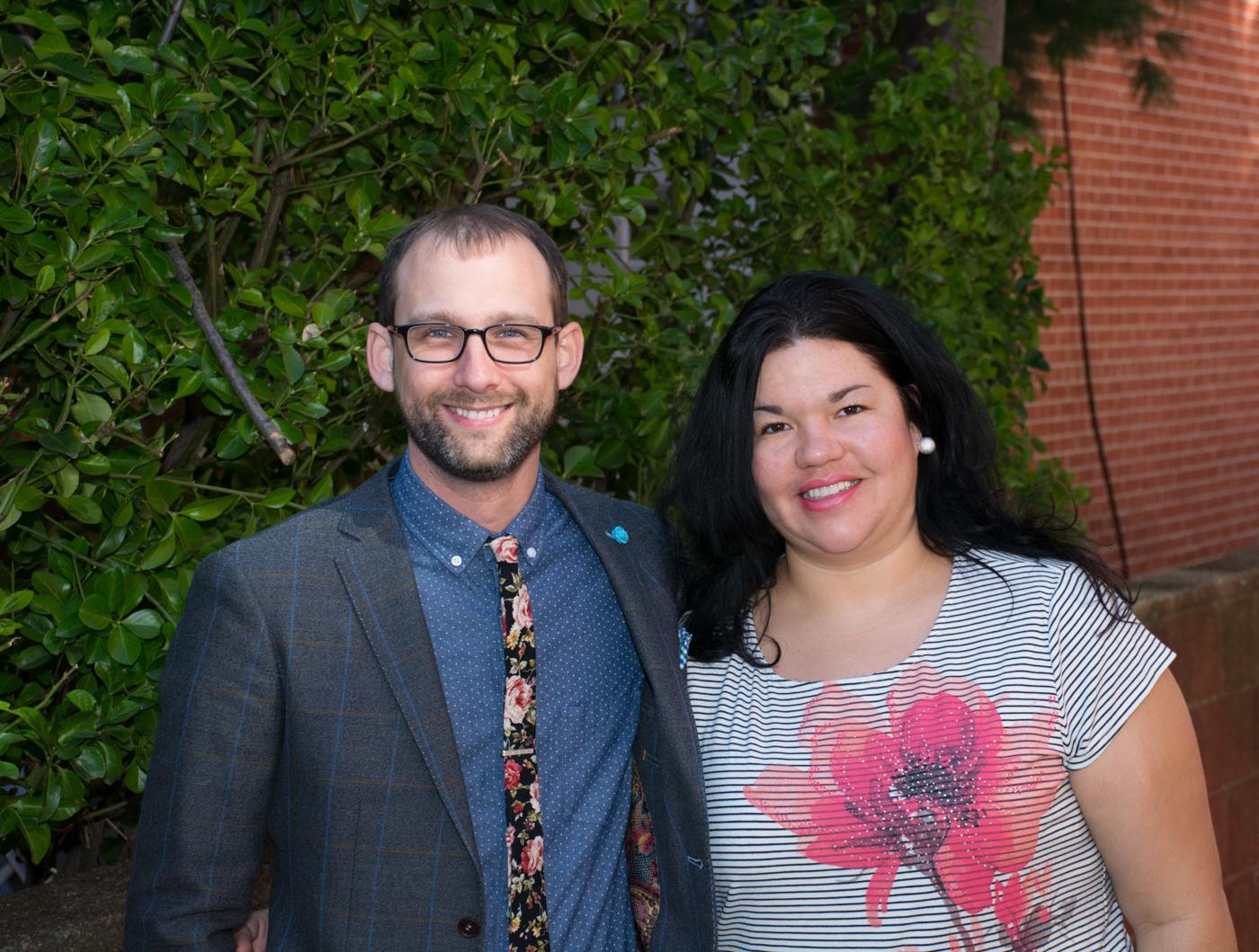 Ashley Minner & Sean Scheidt by Jim Sandoz